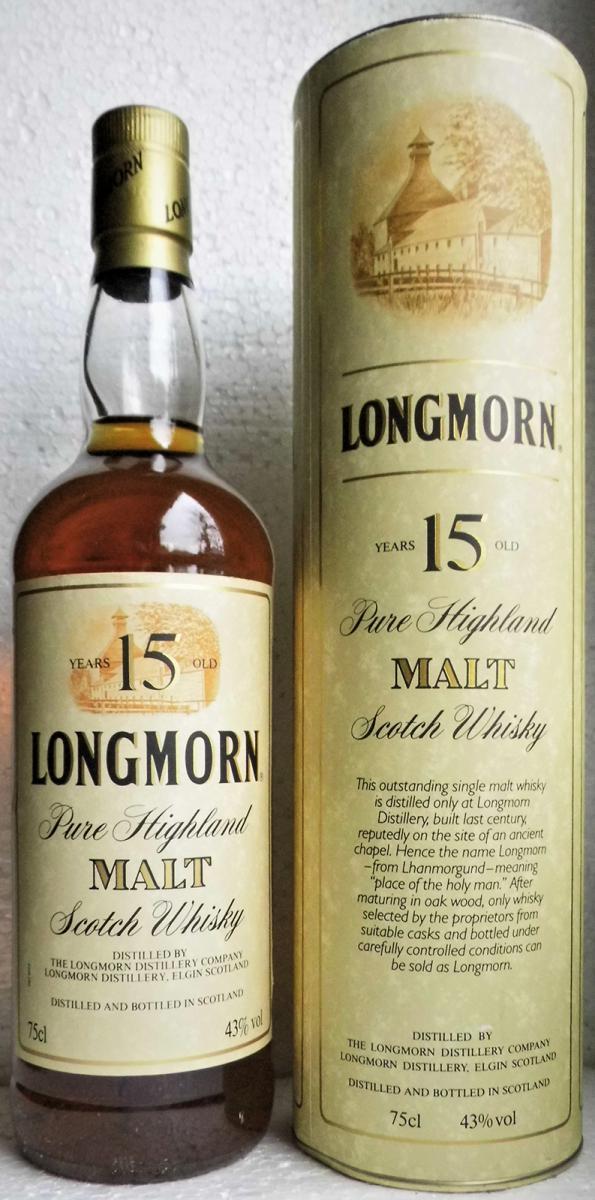 Longmorn 15-year-old