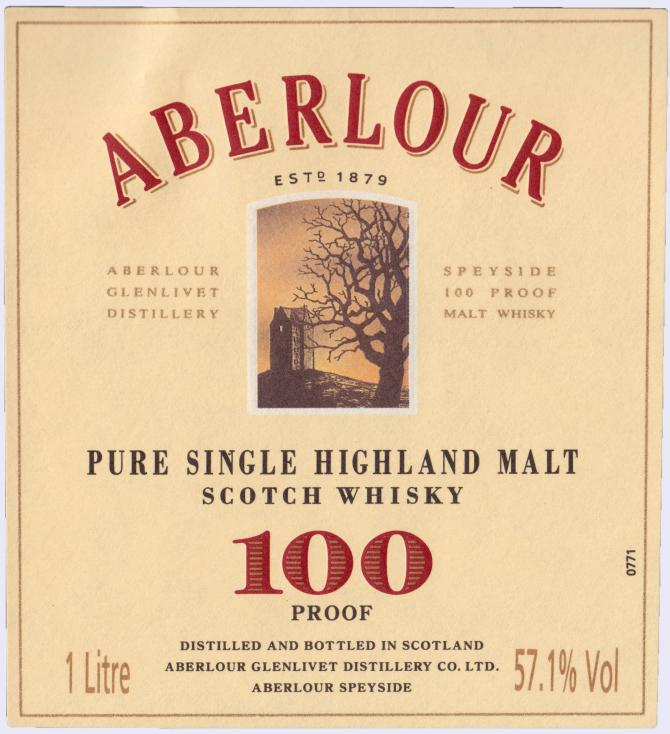 Aberlour 100 Proof