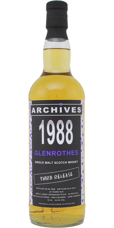 Glenrothes 1988 Arc