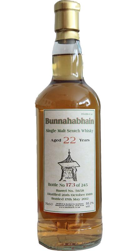 Bunnahabhain 1989 BF
