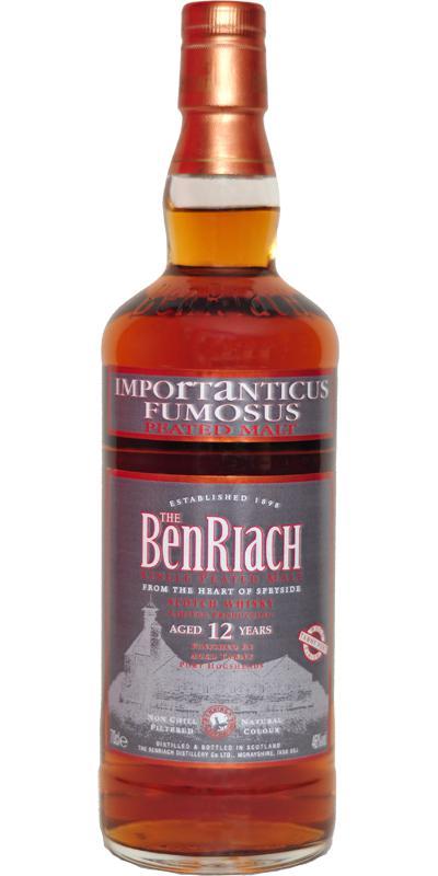 BenRiach Importanticus Fumosus