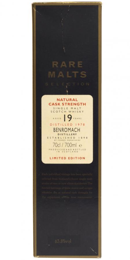 Benromach 1978