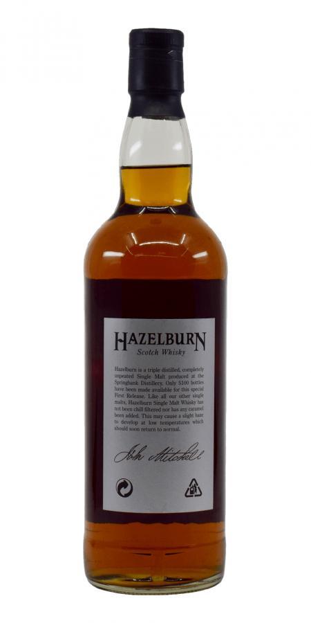 Hazelburn 08-year-old