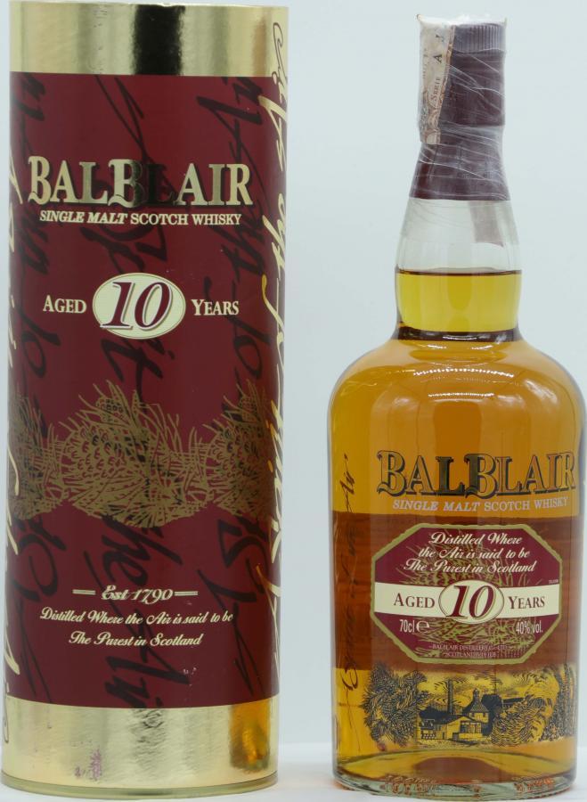 Balblair 10-year-old