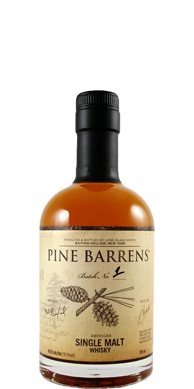 Pine Barrens American Single Malt Whisky