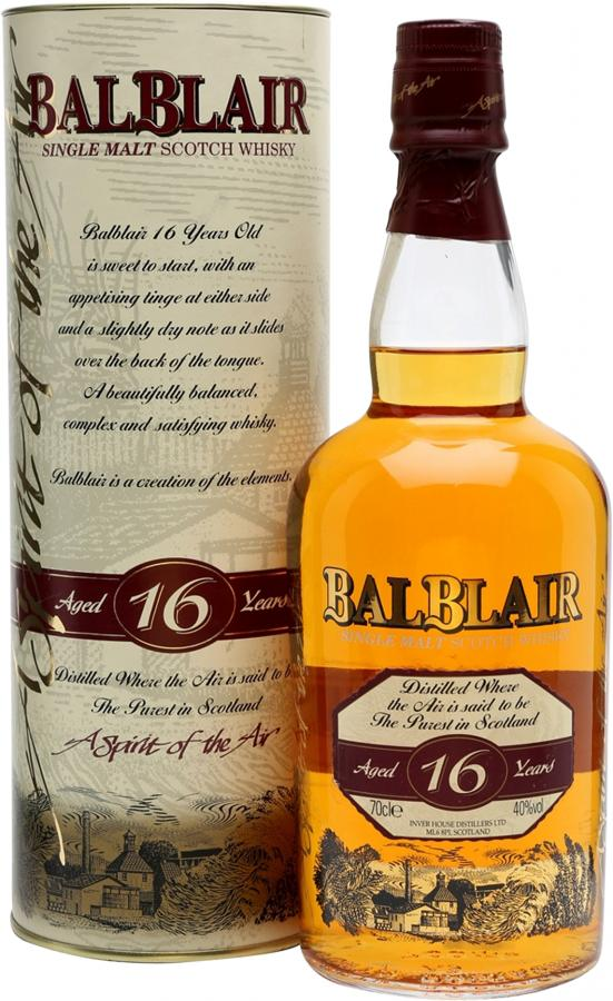 Balblair 16-year-old