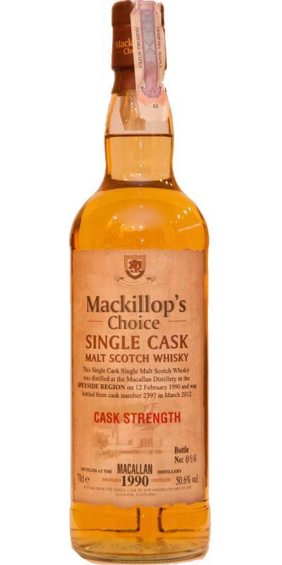 Macallan 1990 McC