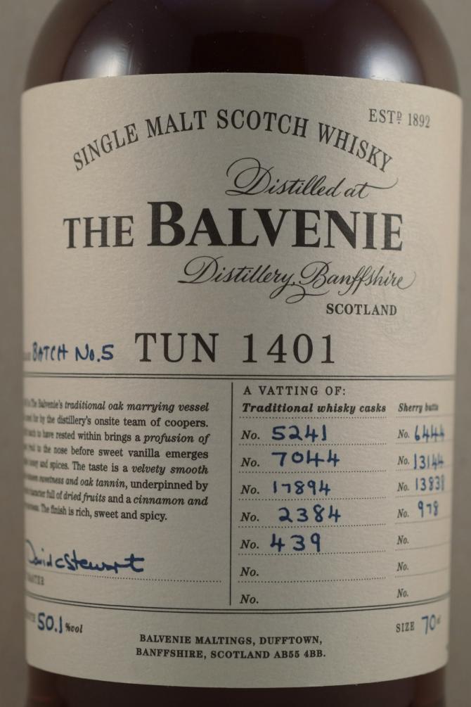 Balvenie Tun 1401