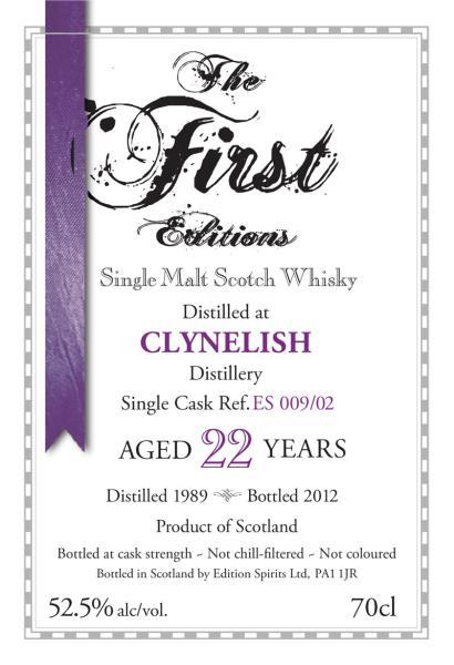 Clynelish 1989 ED