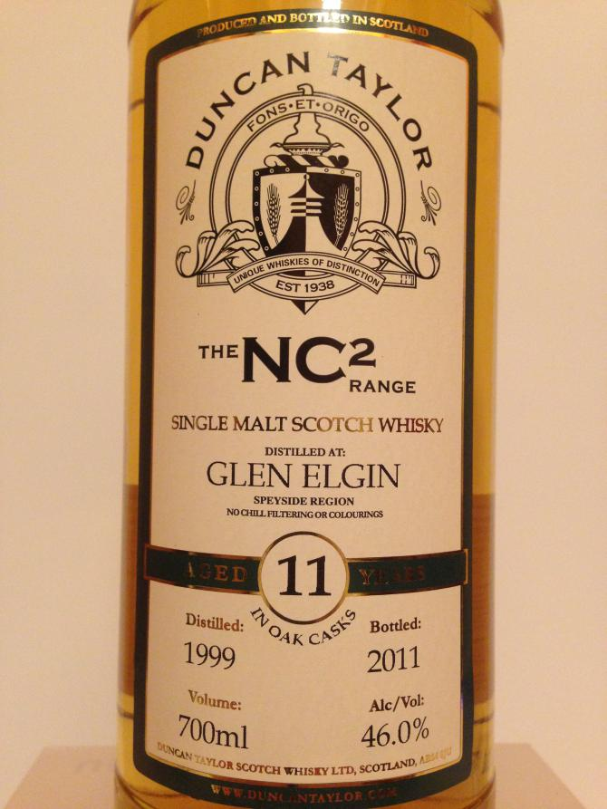 Glen Elgin 1999 DT