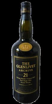 Glenlivet 21-year-old - Archive
