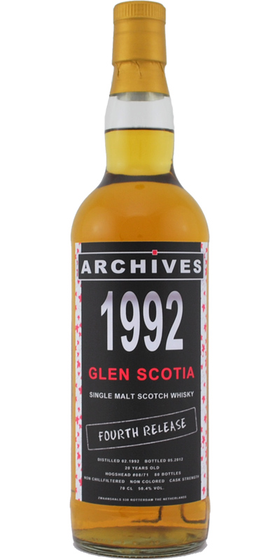 Glen Scotia 1992 Arc