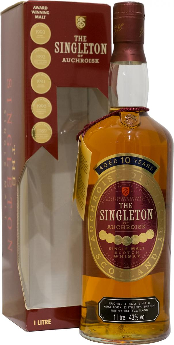 The Singleton of Auchroisk 10-year-old