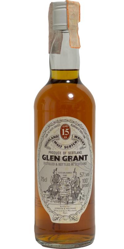 Glen Grant 15-year-old GM