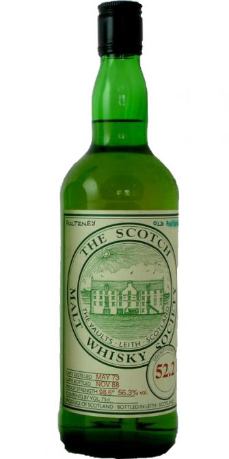 Old Pulteney 1973 SMWS 52.2
