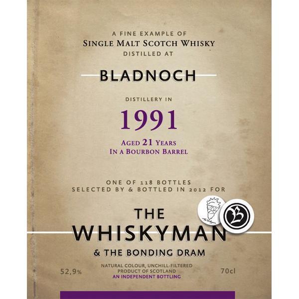 Bladnoch 1991  TWm