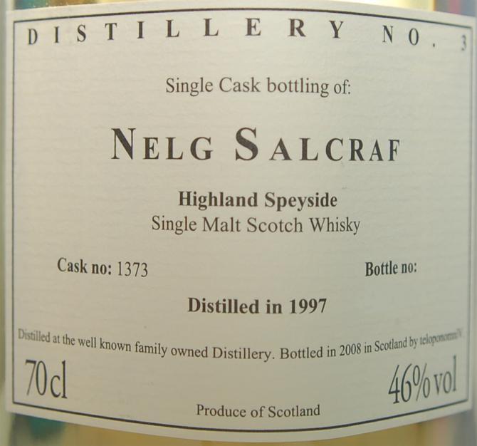 Glenfarclas 1997 VM - Nelg Salcraf