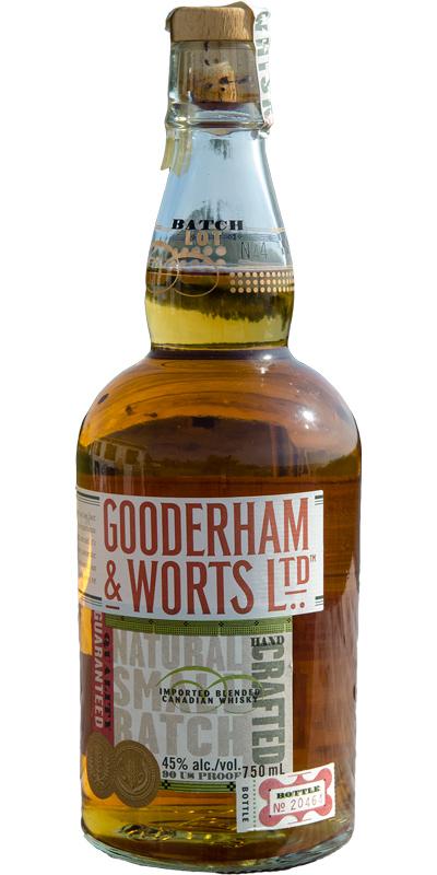 Gooderham & Worts Ltd. Natural Small Batch