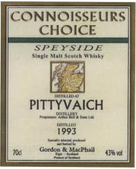 Pittyvaich 1993 GM