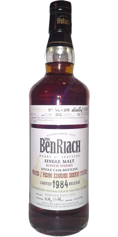 BenRiach 1984 - Peated