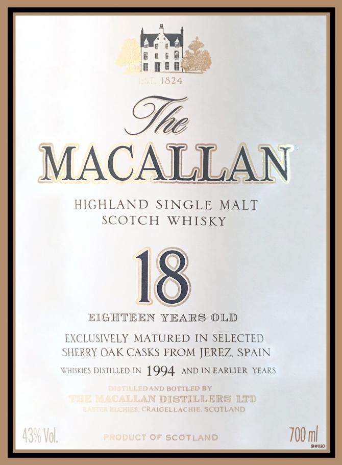 Macallan 1994
