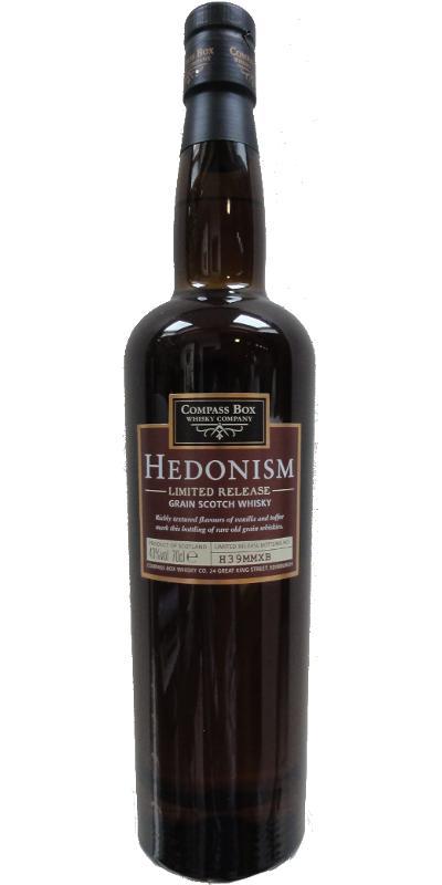 Hedonism Grain Scotch H39MMXB CB