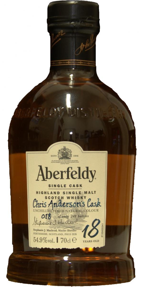 Aberfeldy 18-year-old