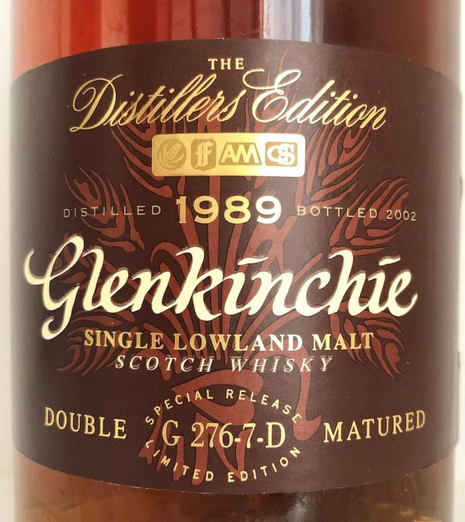 Glenkinchie 1989