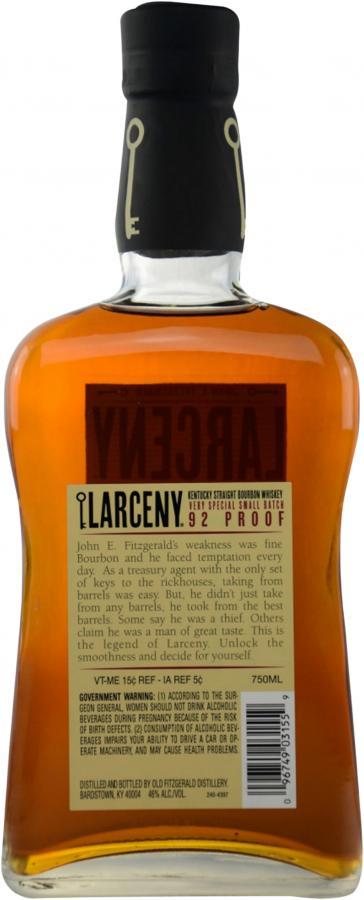 John E. Fitzgerald Larceny 1870