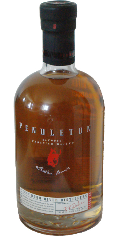 Pendleton Blended Canadian Whisky