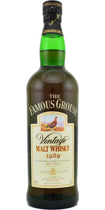 The Famous Grouse 1989