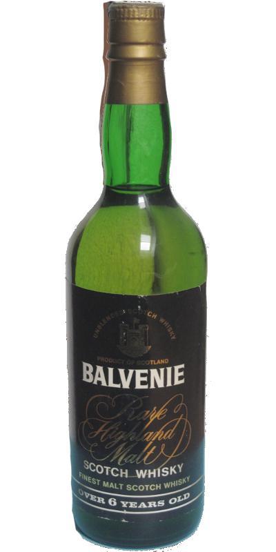 Balvenie 06-year-old Rare Highland Malt