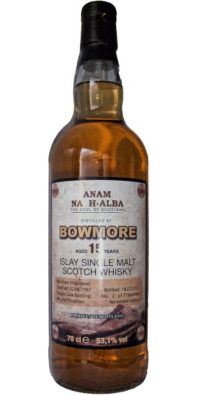 Bowmore 1997 ANHA