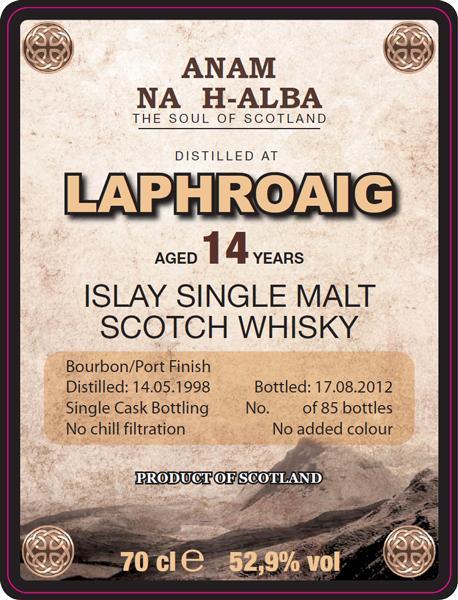 Laphroaig 1998 ANHA