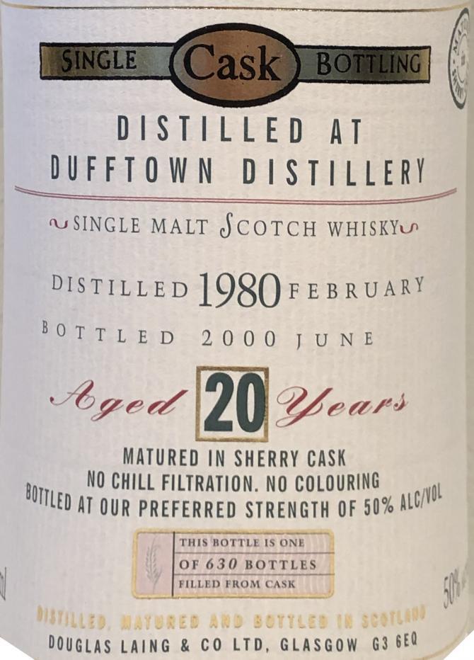 Dufftown 1980 DL