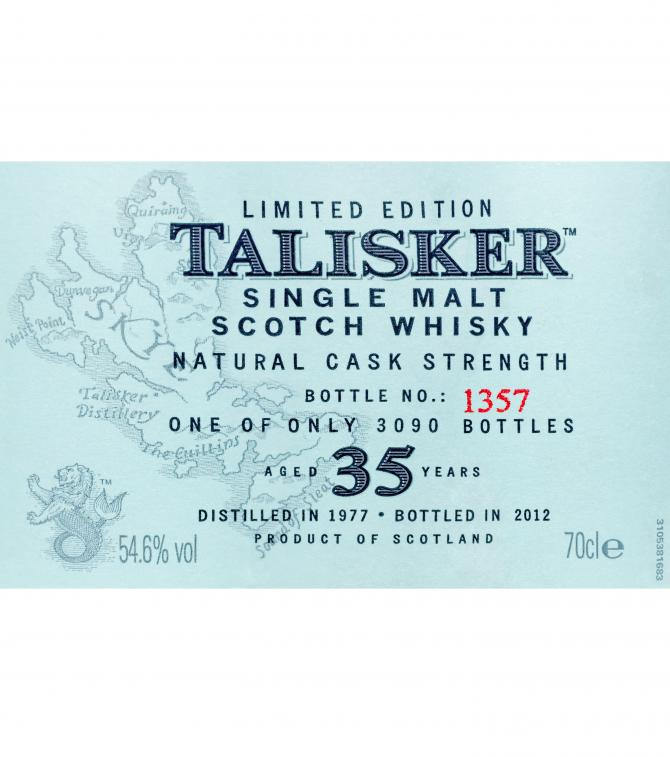 Talisker 35-year-old
