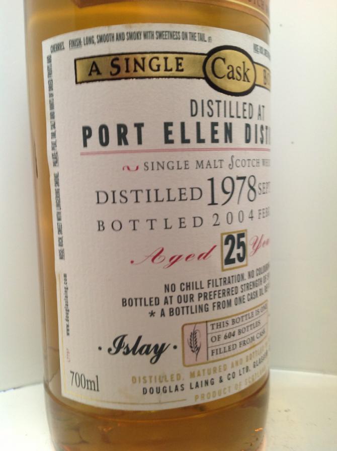 Port Ellen 1978 DL