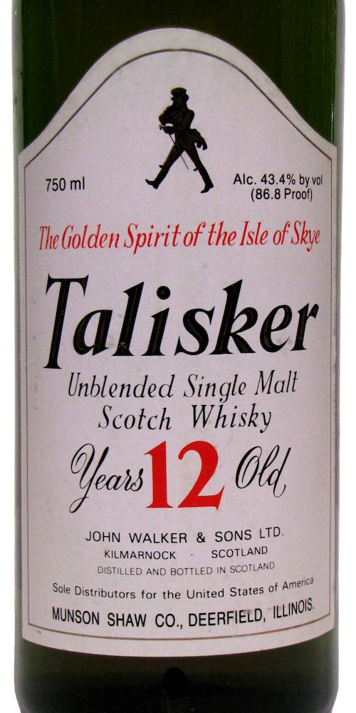 Talisker 12-year-old