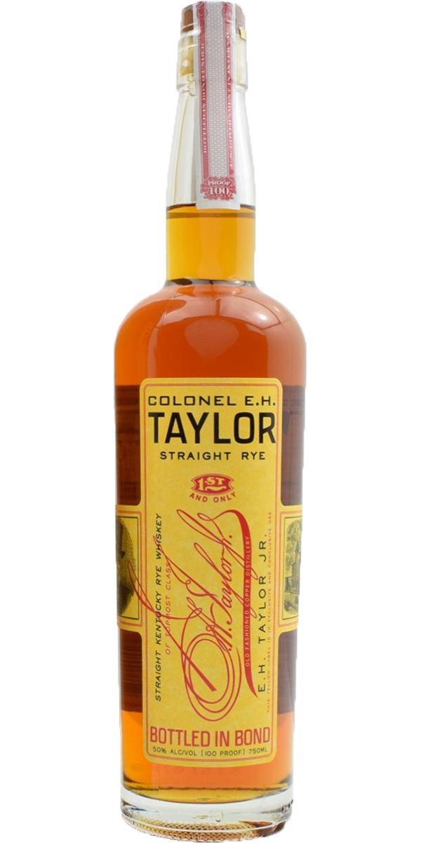 Colonel E.H. Taylor Straight Rye