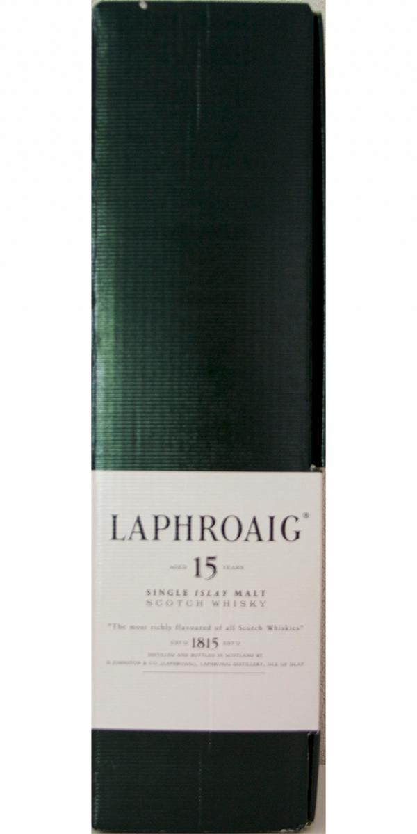 Laphroaig 15-year-old