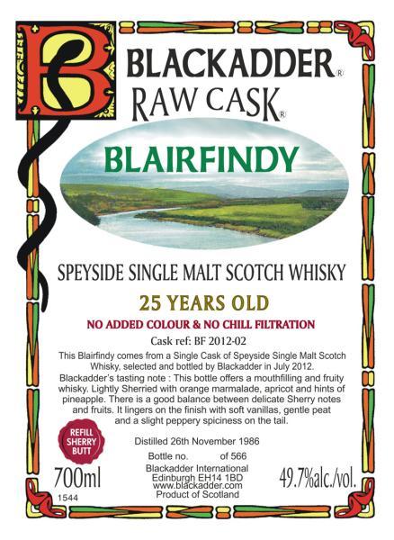 Blairfindy 1986 BA