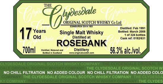 Rosebank 1991 TCO
