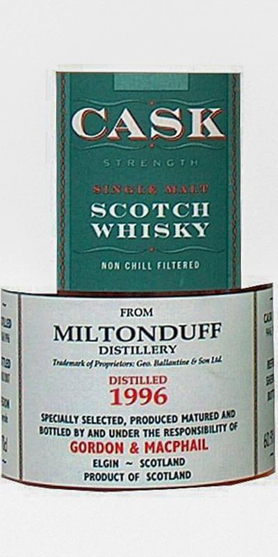 Miltonduff 1996 GM