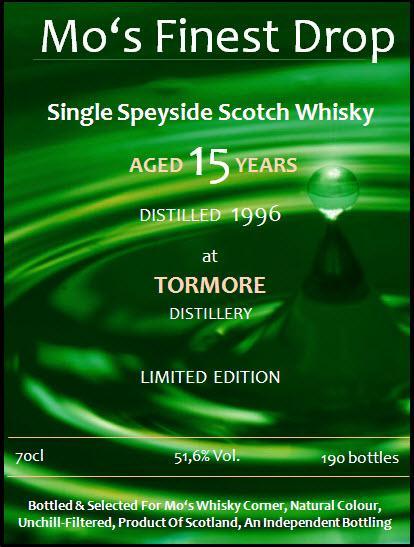 Tormore 1996 MoWC
