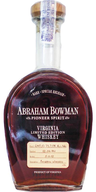 Abraham Bowman 1994
