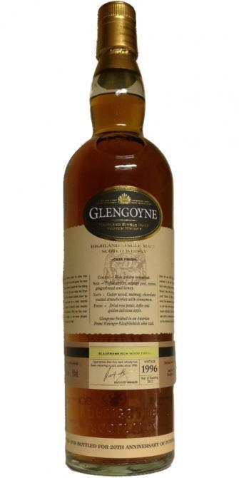 Glengoyne 1996 - Blaufränkisch Cask Finish