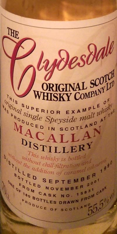 Macallan 1990 TCO