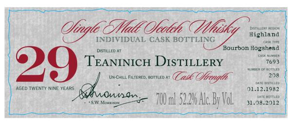 Teaninich 1982 DR