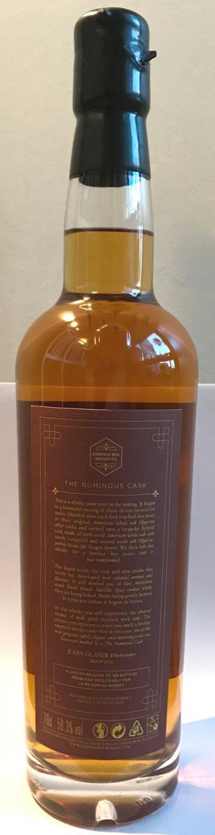 The Numinous Cask NAS CB