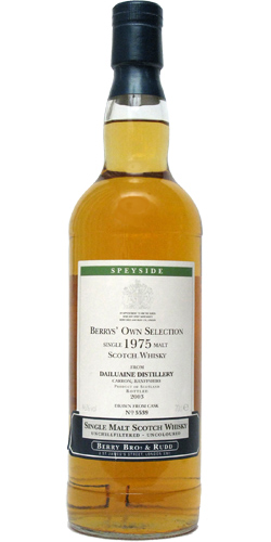 Dailuaine 1975 BR